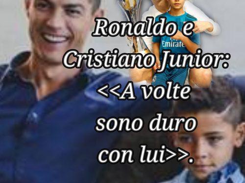 Ronaldo e Cristiano Jr: il ruolo cruciale della disciplina