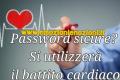 Password sicure? Si utilizzerà il battito cardiaco