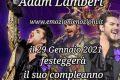 Adam Lambert: un concerto per il suo compleanno