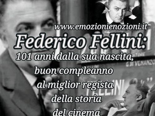 Federico Fellini: auguri al regista che compie 101 anni