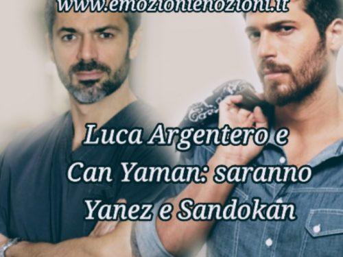 Luca Argentero e Can Yaman: Yanez e Sandokan