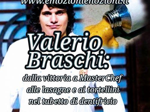 Valerio Braschi: da MasterChef alla pasta nel tubetto