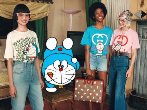 Capodanno cinese: Doraemon protagonista per Gucci