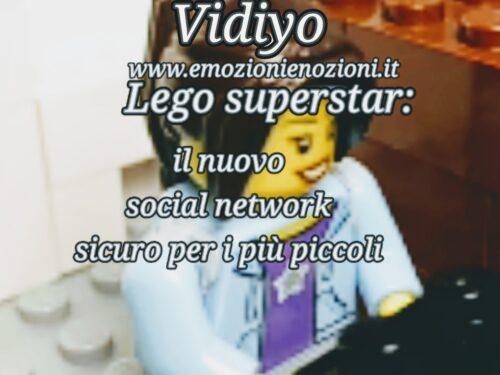 Lego Vidiyo superstar: il nuovo social network