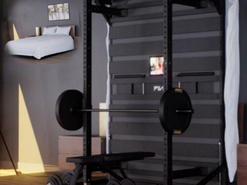 Pivot, il letto per allenarsi in casa