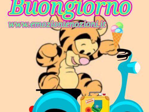 Winnie The Pooh, buongiorno: immagini per dire ciao