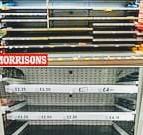 Quarantena, supermercati vuoti