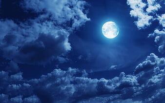 Luna blu: ritornerà soltanto nel 2024