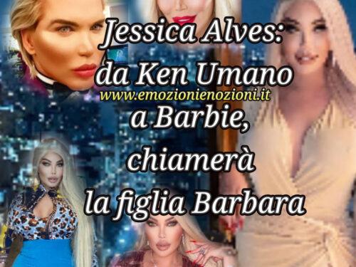 Jessica Alves: da Rodrigo, il Ken Umano, all'utero